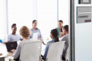Sunny meeting room